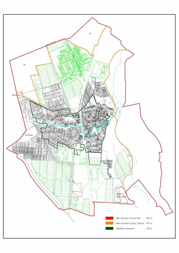 кадастровий план села