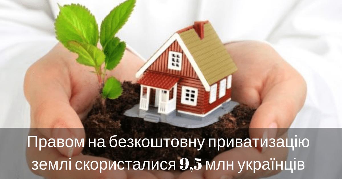 безкоштовна приватизація землі